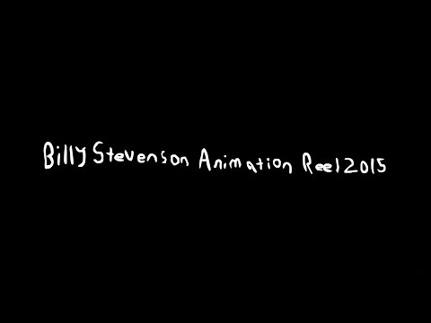 Billy Stevenson: 2015 Animation Reel