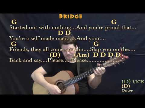 Stuck In The Middle (Stealers Wheel) Guitar Cover Lesson with Chords/Lyrics