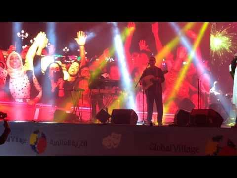 C'est la vie HD 1080p, Cheb Khaled live in Concert @ (Global Village) Dubai - UAE