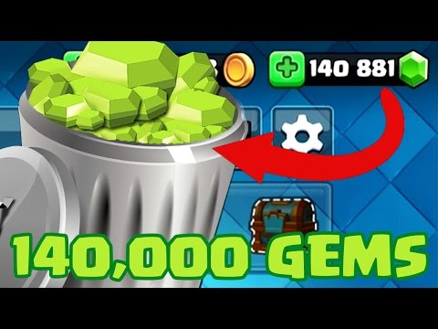 140,000 GEMS WASTED | Clash Royale | I Can't Believe this Happened