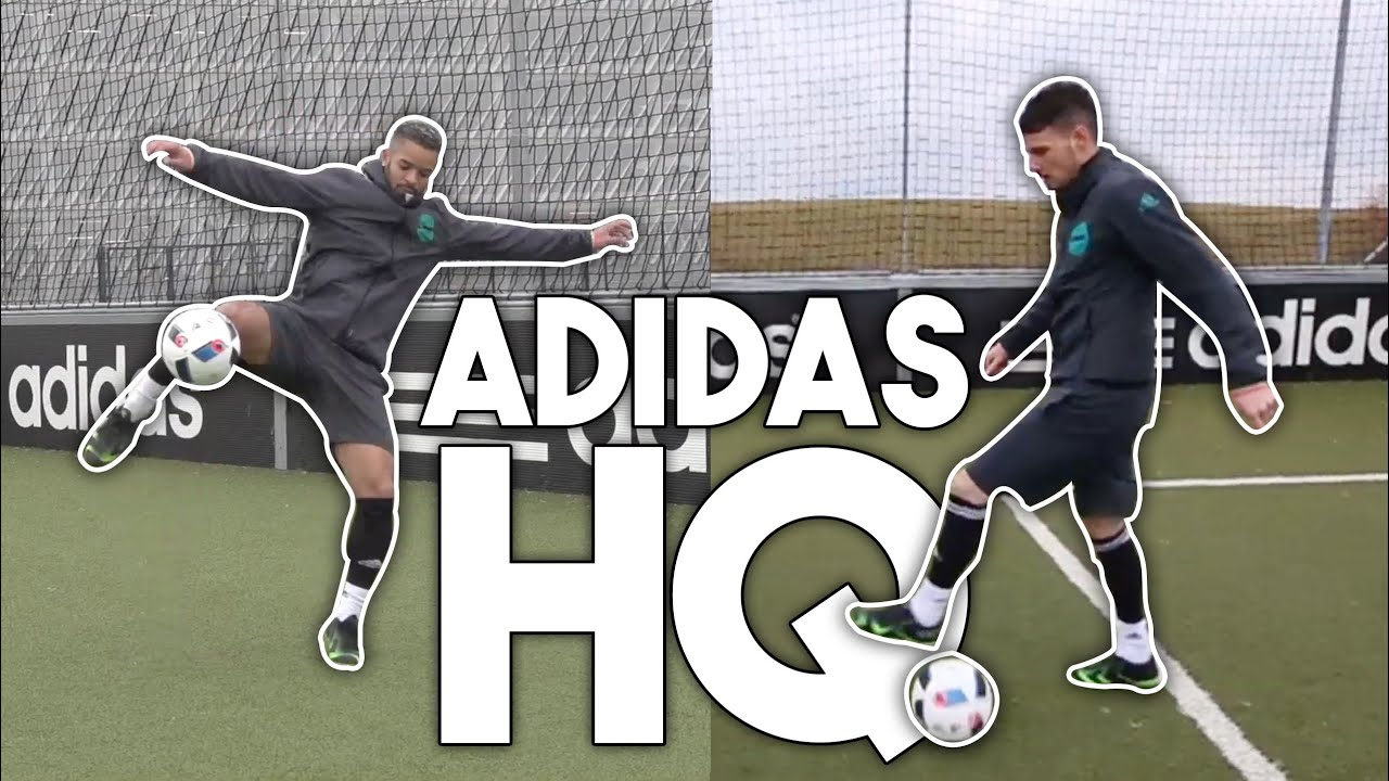 e23d13ab4aeb F2 TEKKERS AT ADIDAS HQ! - YouTube