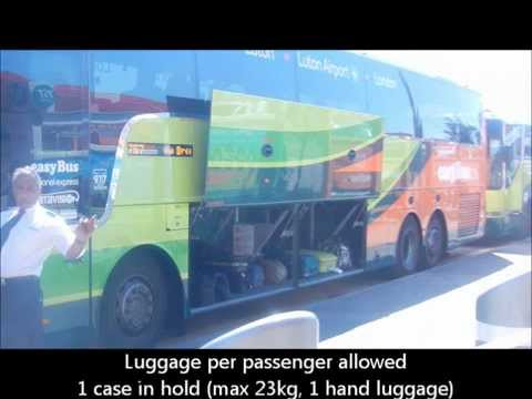 Luton Airport To Central London Bus