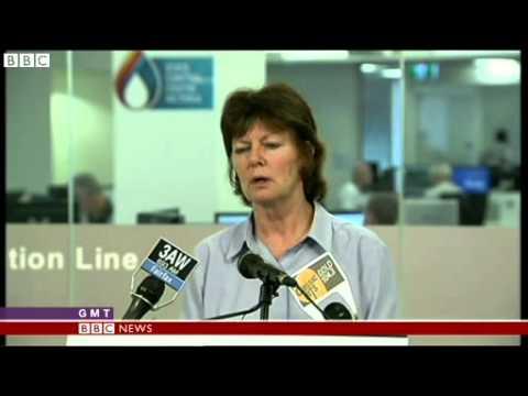 BBC News   Lightning causes wildfires in soaring Australian heat