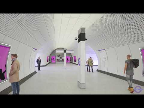 Elizabeth line commercial partnerships: station fly-through