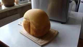 Видео-рецепт пшеничного (белого) хлеба для хлебопечки. Домашняя выпечка с GARLYN Home BR-1000.