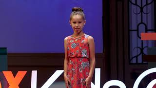Make Our World a Fresh Place to Live | Teliya Barrack | TEDxKids@ElCajon