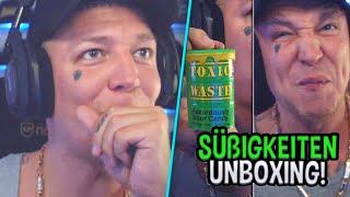 Monte probiert SAUERSTE SÜßIGKEIT! 😂 Süßigkeiten + Getränke Unboxing 🤤 MontanaBlack Highlights