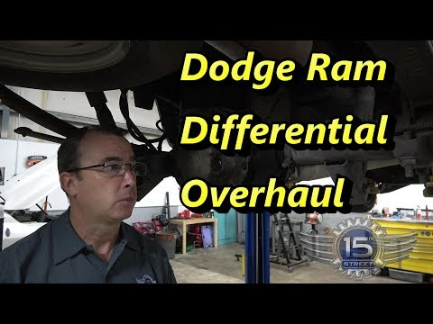 Dodge Ram 1500 Differential Rebuild