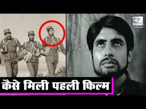 How Amitabh Bachchan Bagged His First Movie Saat Hindustani
