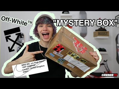 $550 HYPEBEAST MYSTERY BOX with OFF-WHITE ! HYPED