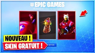 "VOICI FREE CADEAUX of the ""AVENGERS"" MODE on Fortnite!"