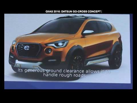 GIIAS 2016 Datsun Go Cross Concept 150sec