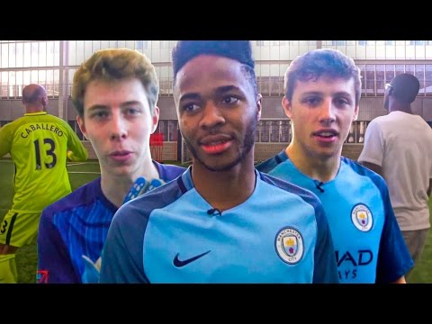 FOOTBALL CHALLENGES WITH RAHEEM STERLING, YAYA TOURE & WILLY