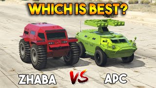 GTA 5 ONLINE : ZHABA VS APC (WHICH IS BEST?)