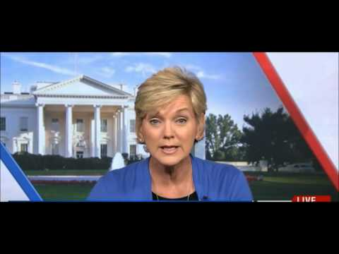 Jennifer Granholm eats cake predicting easy Michigan win for Hillary Clinton