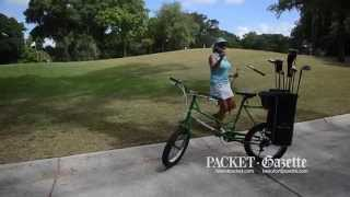 For golfers looking for a new experience and a little exercise, Palmetto Dunes is now providing players with the Golf Bike, a bicycle specially designed for the links.