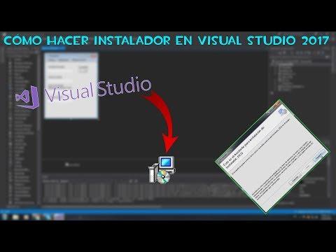 Cómo Hacer Instalador En Visual Studio 2017