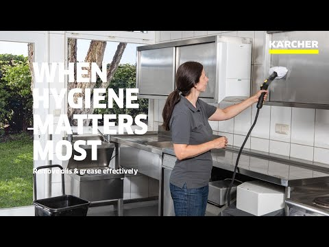 Karcher SG 4/4 Steam Cleaner in Commercial Kitchen Applications