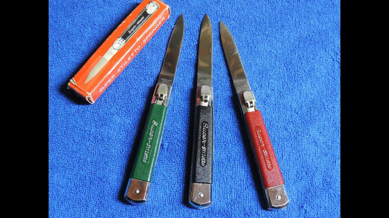 Super-Stiletto Automatic Knives - Retro Knives