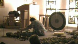 Sun Gong, Tibetan Singing Bowls, Tingshags, Drilbu and Conch Meditation Music Part 6