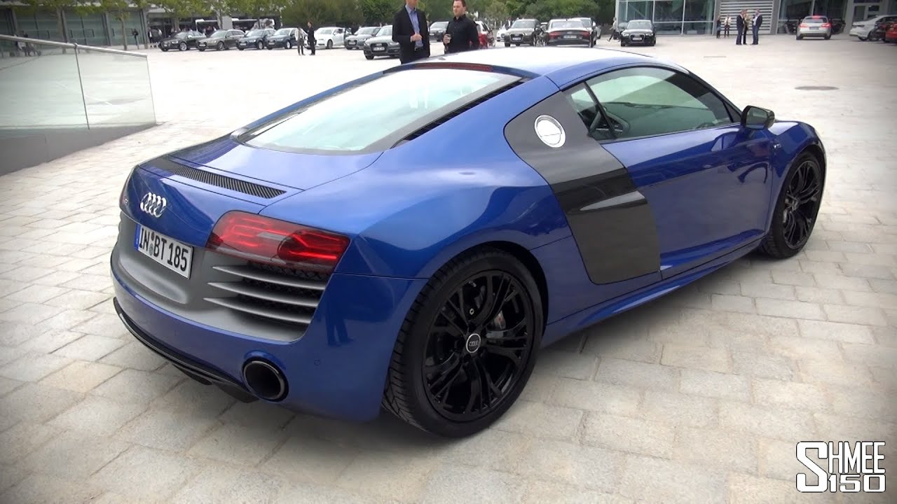 Audi R8 V10 Plus For A Euro Tour   Introduction And Revs   YouTube