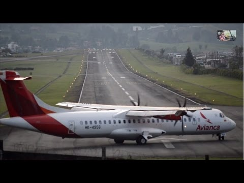 [HD 1080p] Plane Spotting in Manizales - Colombia