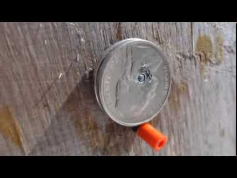 Homemade Armor Piercing Steel Core Air Gun Pellets Youtube