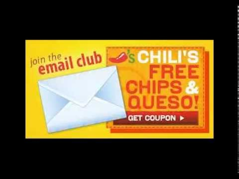 picture about Chilis Coupons Printable titled Chilis Coupon codes 2012 - Chilis Coupon codes Printable 2012