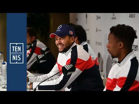 Coupe Davis France-Japon : les réactions des Bleus après la victoire ! | FFT