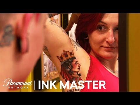 Glutton For Punishment - Armpits Pt. 1: Elimination Tattoo | Ink Master: Shop Wars (Season 9)