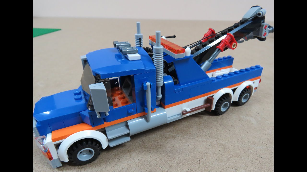 how to build a lego tow truck youtube. Black Bedroom Furniture Sets. Home Design Ideas