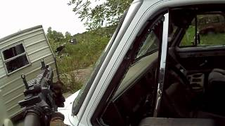 The War Zone airsoft skirmish 8-19-12 game 2 part 1