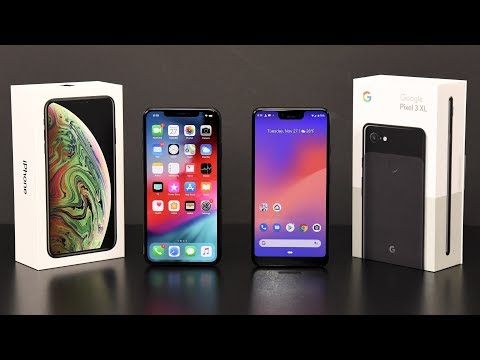 iPhone XS Max vs Pixel 3 XL: Comparison Review