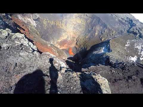WorldTravelistas at Villarrica Volcano, Chile