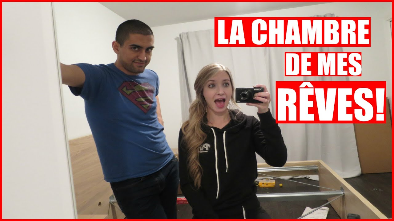 la chambre de mes r ves vlogmas jour 16 15 d cembre 2015 youtube. Black Bedroom Furniture Sets. Home Design Ideas