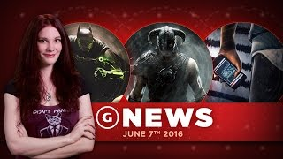 Pre-E3 Leaks! Watch Dogs 2, Injustice 2, and Skyrim Remaster - GS Daily News