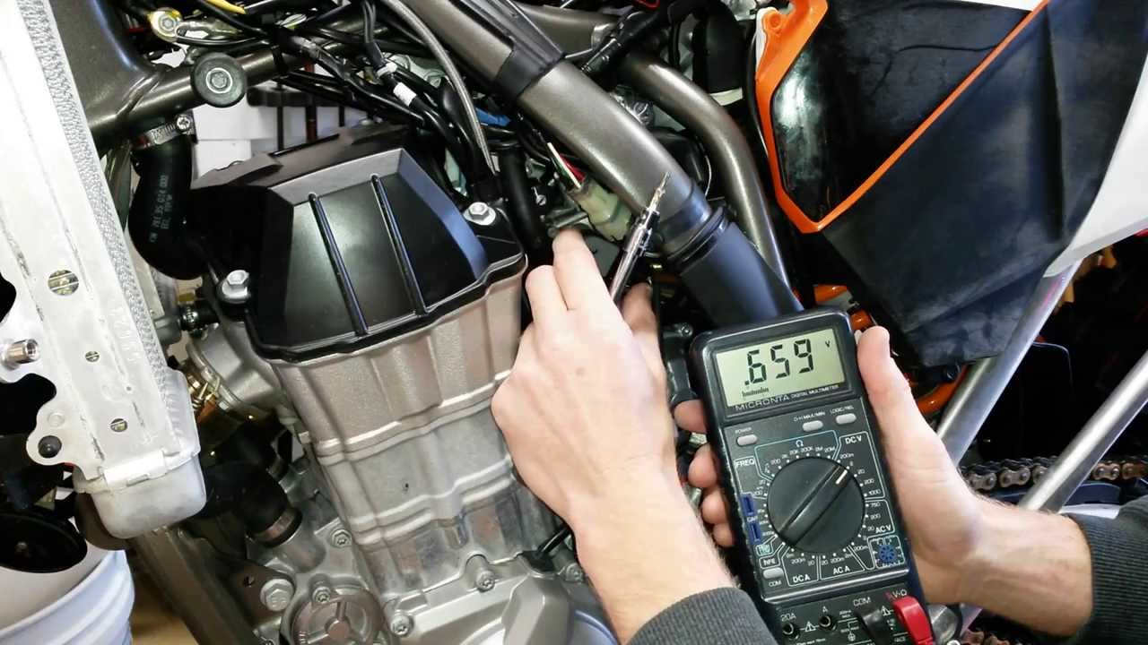 Ktm Throttle Position Sensor Tps Adjustment The Easy Way How To Wiring Diagram 125 Exc Six Days 200 Youtube