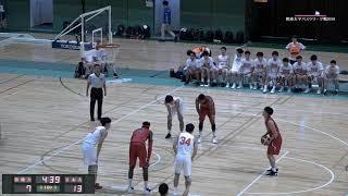第95回関東大学バスケ2019リーグ戦1部第3節、日本大学vs法政大学