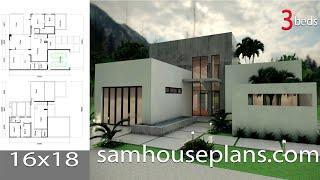 Video Villa Design Idea Modeling with SketchUp 16x18m download MP3, 3GP, MP4, WEBM, AVI, FLV Desember 2017