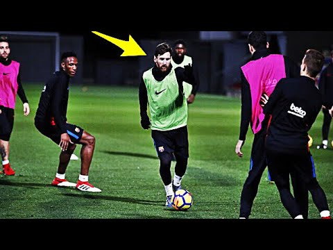 30b78641618eba Lionel Messi Crazy Training Skills Show 2018 - Part 2