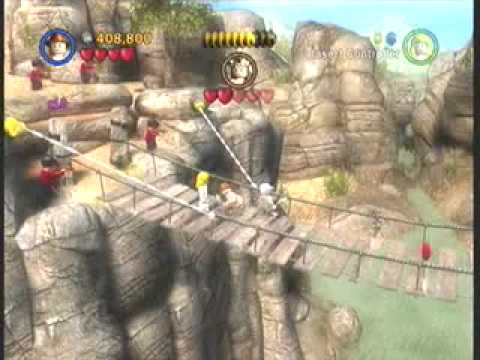 Xbox 360 game Lego Indiana Jones The Original Adventures battle on ...