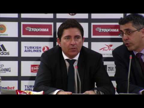 Euroleague Post - Game Press Conference: Panathinaikos Super
