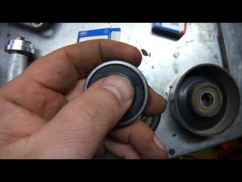 Idler Bearing Replacement DIY