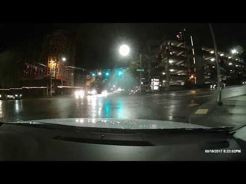 Seattle Red Light Ticket - Black Prius - Cobra IRadar 855BT