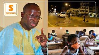 """""""Mbass-mi""""- Modou Diagne Fada veut la fermeture des écoles et un couvre-feu tous les week-ends"""