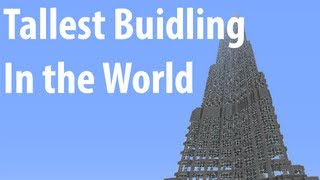 Minecraft: Burj Khalifa(Tallest building in the world)