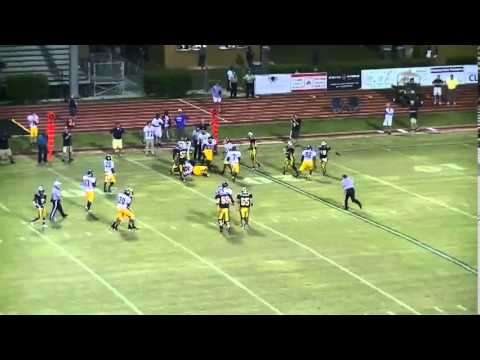 L W Higgins LB Rudy Johnson senior highlights 2013