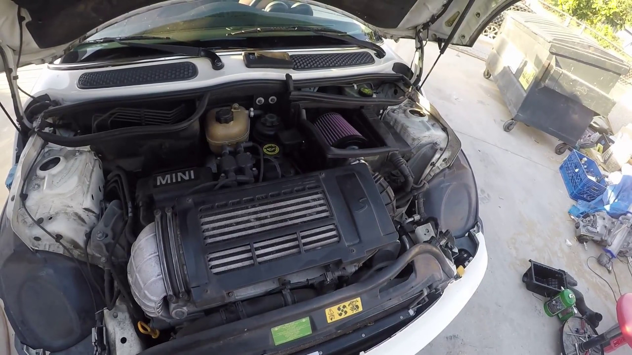 Cold Air Intake (K&N) Install 2005 Mini Cooper S (R53)
