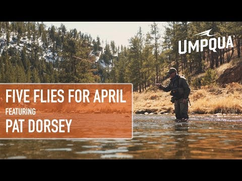Five Flies For April 2018 Featuring Pat Dorsey