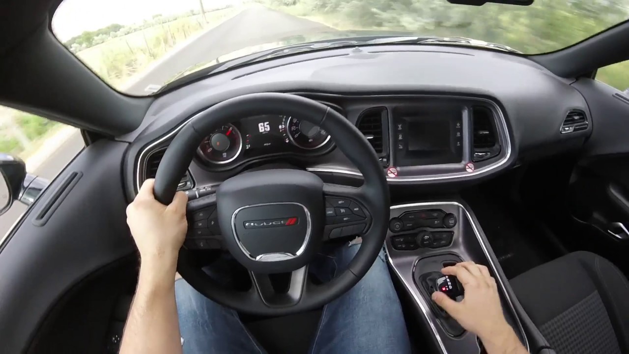 2017 dodge challenger r t pov drive youtube - 2017 dodge challenger interior lights ...